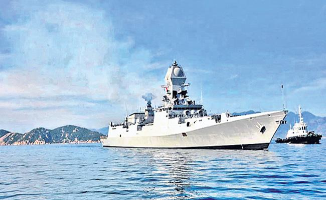 Australia onboard for Malabar naval exercise - Sakshi