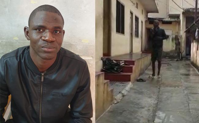Taskforce Police Caught Nigerian Who Distributing Drugs - Sakshi