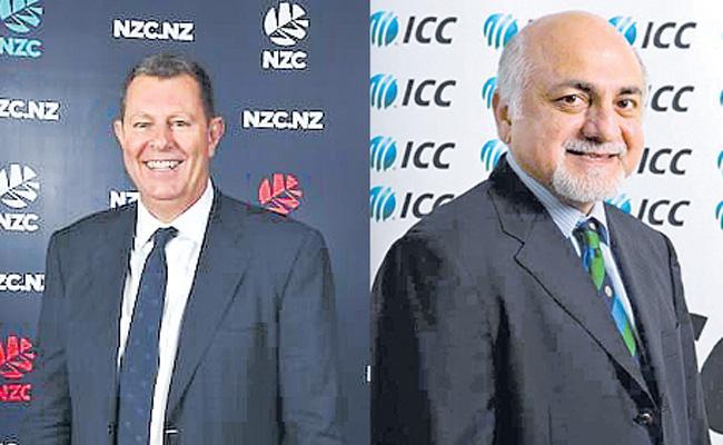 ICC Chairmen race in Greg Barclay vs Imran Khwaja - Sakshi