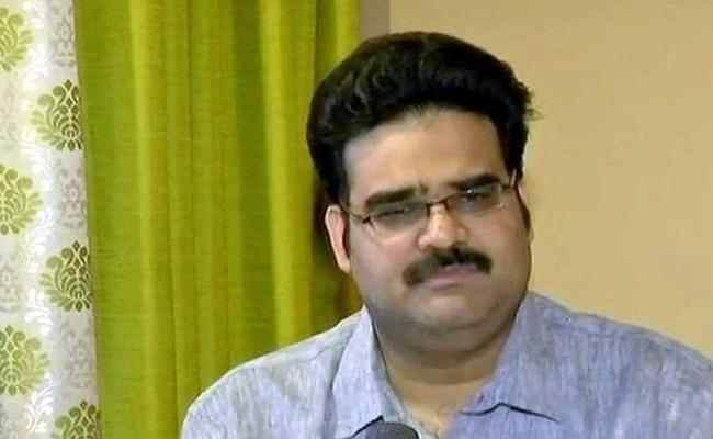 Lanka Dinakar Suspended From BJP - Sakshi