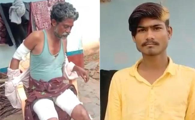 Sister Love Matter: Brother Attack On Lover Father At Hindupur - Sakshi