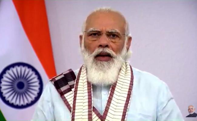 Modi Says Vaccine Would Be Available To All - Sakshi