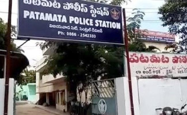 Person Stabbed With Knife By Husband For Making Calls To Wife In Vijayawada - Sakshi