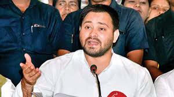 Tejashwi Yadav Hit Back At Bharatiya Janata Party - Sakshi