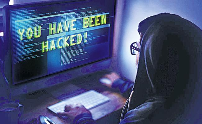Damage caused by cybercrime in 2019 is above one lakh - Sakshi