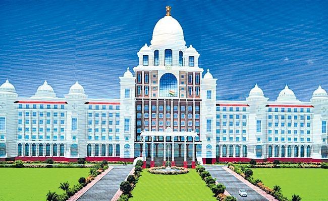 Construction Of New Secretariat Complex Receives Two Bids - Sakshi
