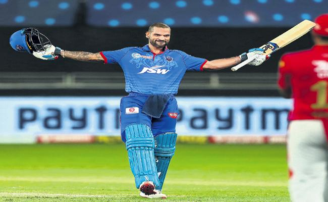 Kings XI Punjab won by 5 wickets over Delhi Capitals - Sakshi