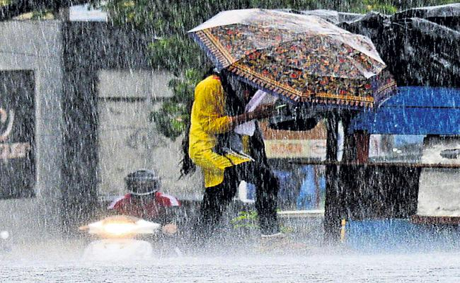 Heavy Rain forecast for Northern Andhra and Rayalaseema - Sakshi