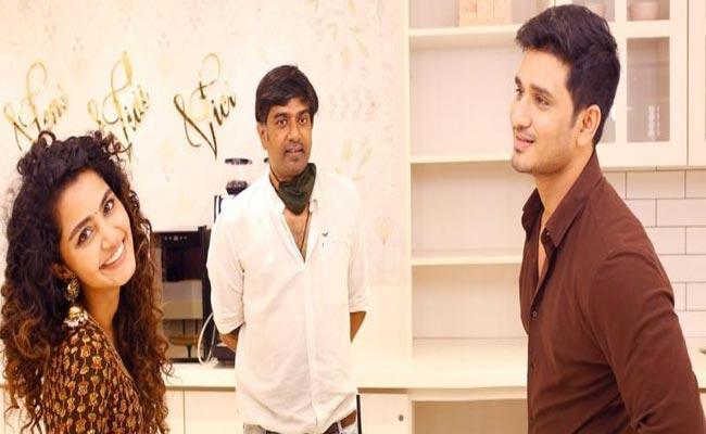 Nikhil Siddharth 18 Pages Movie Shooting Started - Sakshi