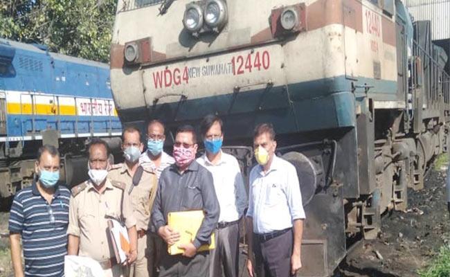 Rail Dragged Elephant Calf For 1 KM Assam Forest Department Seized Engine - Sakshi