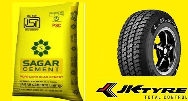 JK tyre- Sagar cements jumps on Q2 results - Sakshi
