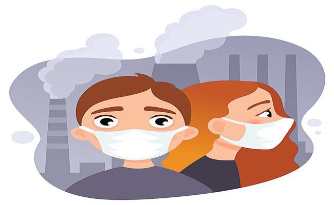 Air pollution biggest health risk in India - Sakshi