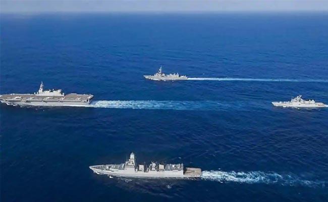 Australia Will Participate In Malabar Naval Exercise - Sakshi
