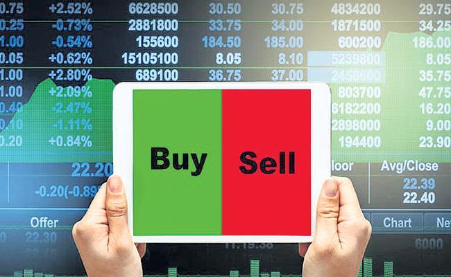 Sensex Slumps Over 800 Points From Day High - Sakshi
