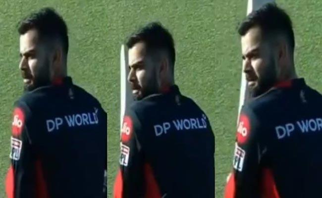 Kohli Imitates Rajasthan Royals Captain Steve Smith During Practice - Sakshi