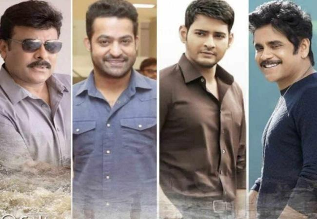 Tollywood Celebrities Contribute to CM Relief Fund - Sakshi