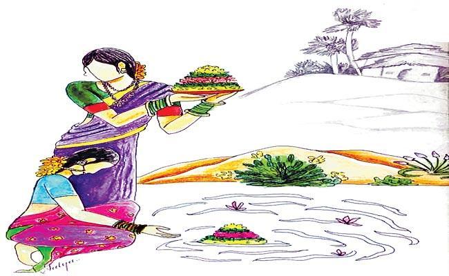 Asnala Srinivas Article On Bathukamma Festival - Sakshi