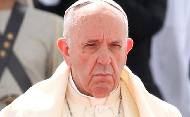 Catholic Priest Pope Francis Sensational Comments - Sakshi