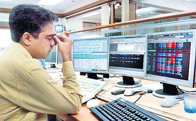Sensex and Nifty lose 4-day rising streak amid mixed global cues - Sakshi