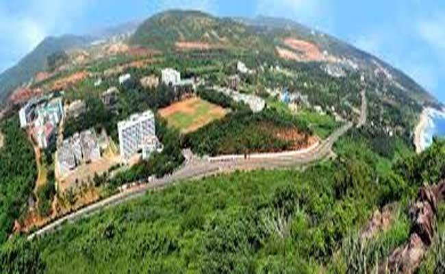 Revenue Officials Confirmed Land GITAM University Was Occupied - Sakshi