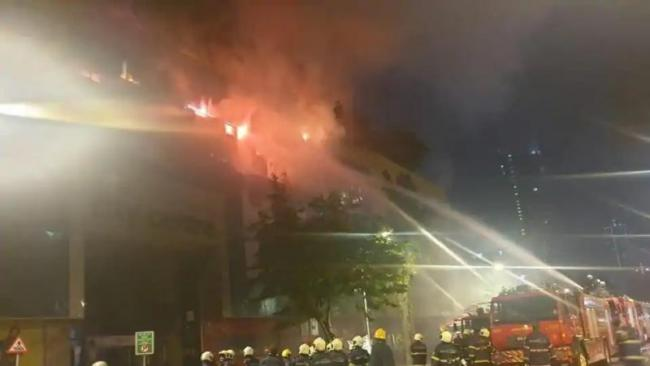 Massive Fire Explosion At South Mumbai City Center Mall - Sakshi