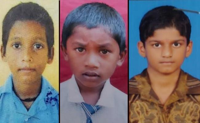 Three Boys In Visakhapatnam Fell Into Water Ditch And  Lost Their lives  - Sakshi