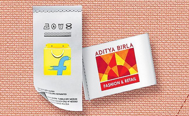 Flipkart Group invests Rs1500 crore in Aditya Birla Fashion - Sakshi