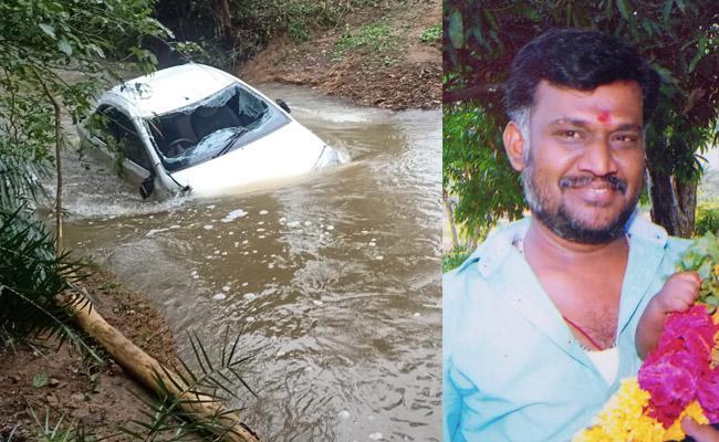 Deceased Man Body Found In Flood Water Chittoor District - Sakshi