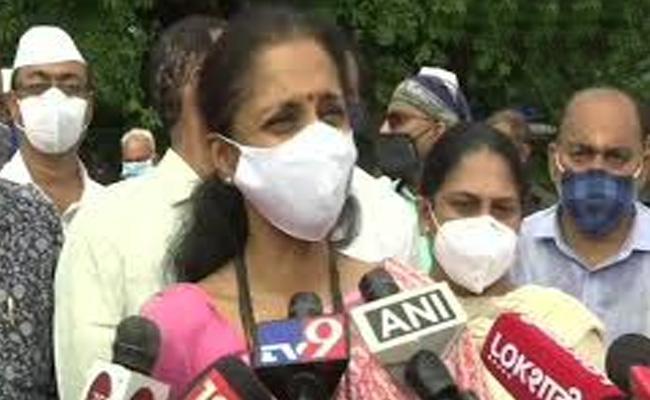 IT Lens On MP Supriya Sule Congress Says Political Vendetta - Sakshi