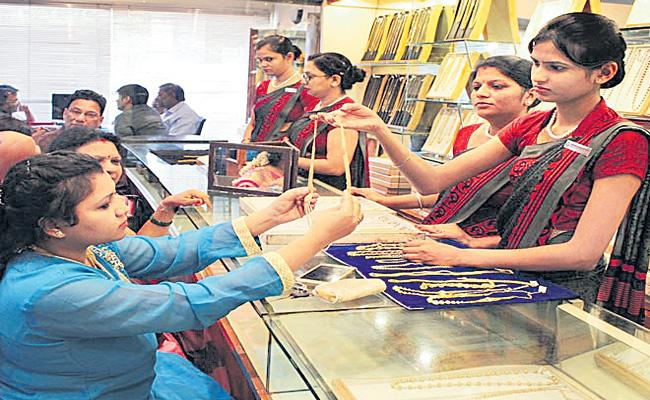 Gold Sales increase 65 percent up - Sakshi