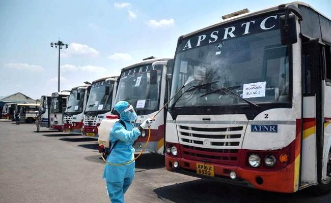 Interstate Bus Service Standoff APSRTC Alternative Arrangements - Sakshi