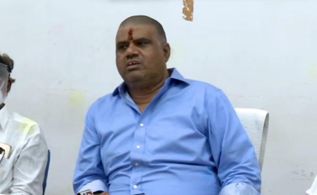 Minister Avanthi Srinivas Comments Over Gitam University Land Grabbing - Sakshi