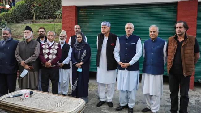 Farooq Abdullah Said Gupkar Declaration Anti BJP Not Anti National - Sakshi