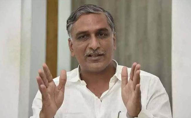 Minister Harish Rao Participated In Siddipet Bathukamma Celebrations - Sakshi