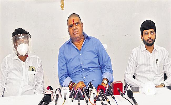 Avanthi Srinivasa Rao Comments On Githam University Land Scam - Sakshi