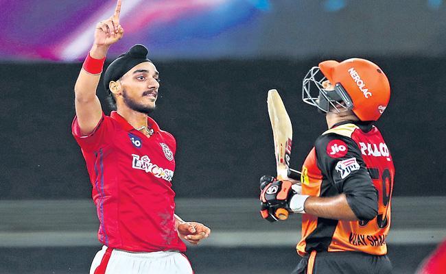 Kings XI Punjab beat Sunrisers Hyderabad by 12 runs - Sakshi