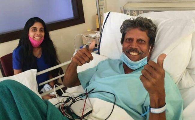 Kapil Dev Discharged From Hospital After Angioplasty - Sakshi