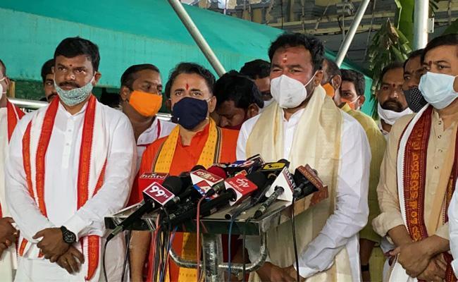 Kishan Reddy Inaugurates Vijayawada BJP Office At Vijayawada - Sakshi