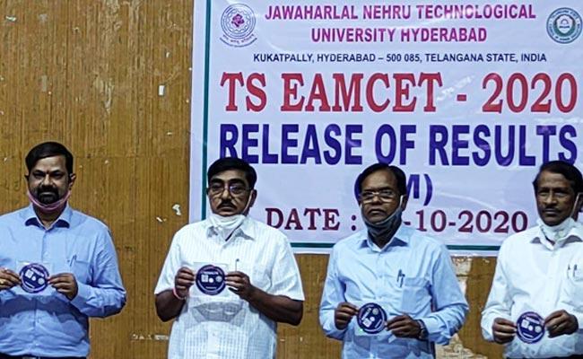 TS EAMCET 2020 Agriculture And Medical Results Released - Sakshi