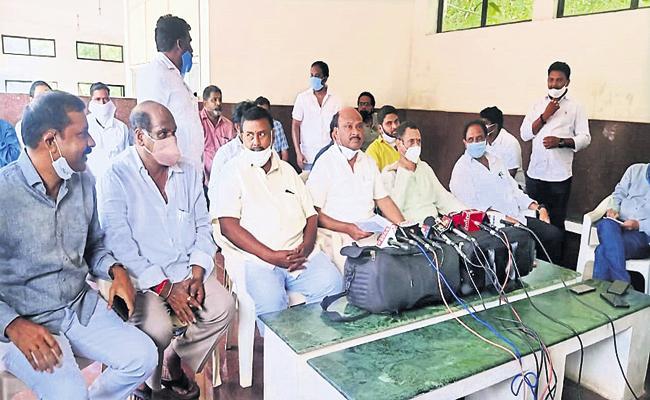 Ayyanna Patrudu Vulgar Comments On Revenue officials - Sakshi