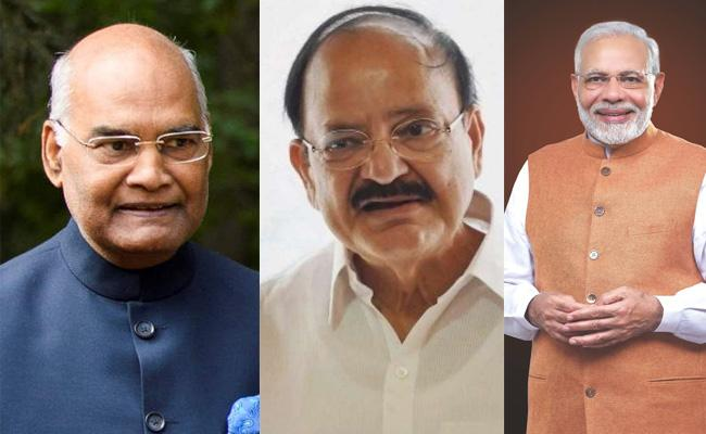 President And PM Extend Dussehra Greetings To Nation - Sakshi