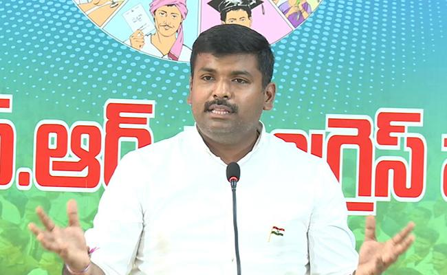 Gudivada Amarnath Fires On TDP Politics Over GITAM Frauds - Sakshi
