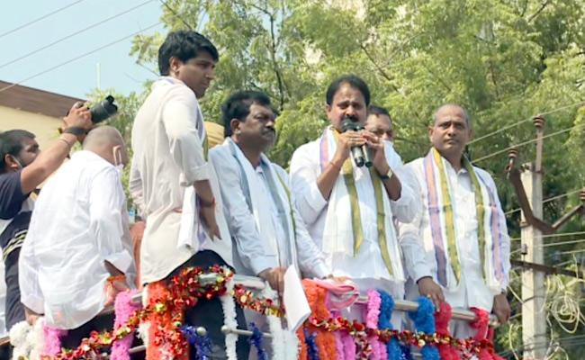 Mopidevi Venkata Ramana And Other MLAs Attends In BC Leaders Rally In Guntur - Sakshi