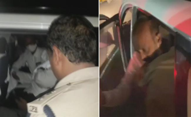 BJP State President Bandi Sanjay Arrested - Sakshi