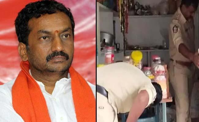 Dubbaka By Polls: Police Searches In BJP Candidate Home - Sakshi