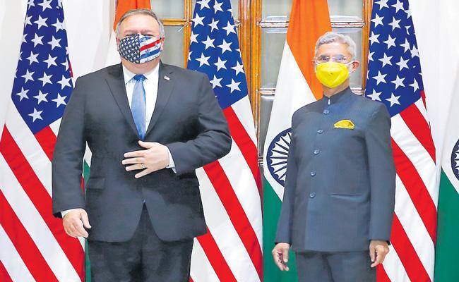 India-US consent on BECA agreement - Sakshi