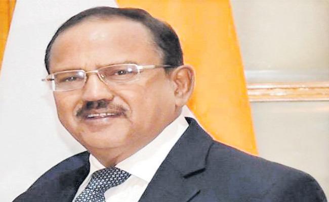 NSA Ajit Doval's statement in Rishikesh unrelated to China - Sakshi