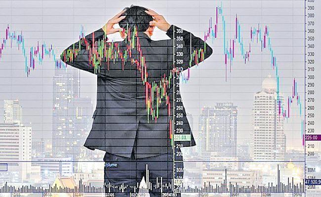 Sensex plunges 540 points - Sakshi