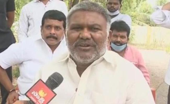 Peddireddy Ramachandra Reddy Slams JC Prabhakar Over Former Lands In Tadepalli - Sakshi