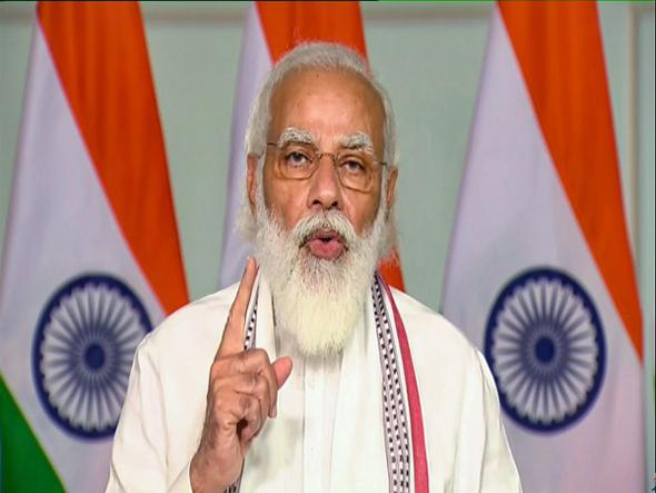 PM Modi Says Dynastic Corruption Hollowed Out Country Like Termites  - Sakshi
